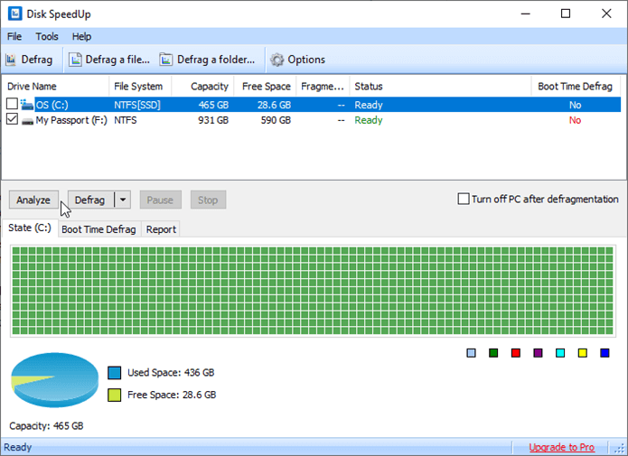 Glarysoft Disk SpeedUp best disk defrag program