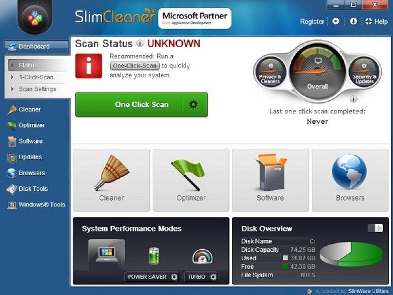 Slimware SlimCleaner