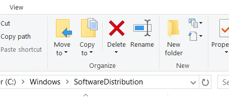 click the Delete button to fix undoing changes to your computer