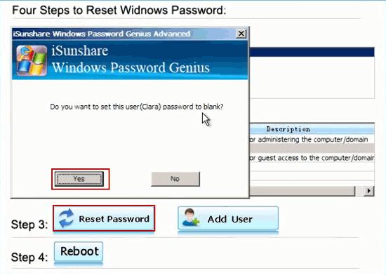 Möchten Sie das Passwort frei lassen?