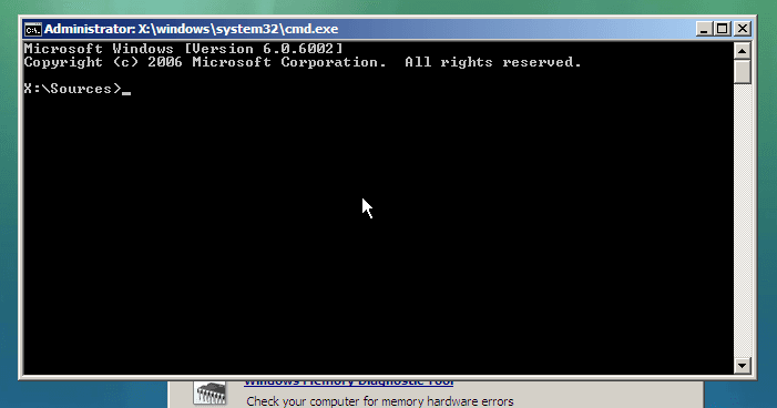 run Command Prompt in laptop