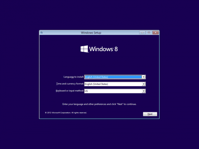 reinstall Windows 8 to hack into locked computer