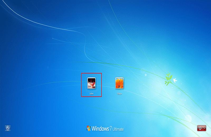 connexion avec un autre compte sur l'ordinateur portable