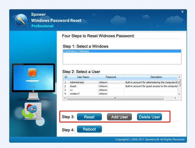 Réinitialiser le mot de passe de l'ordinateur portable