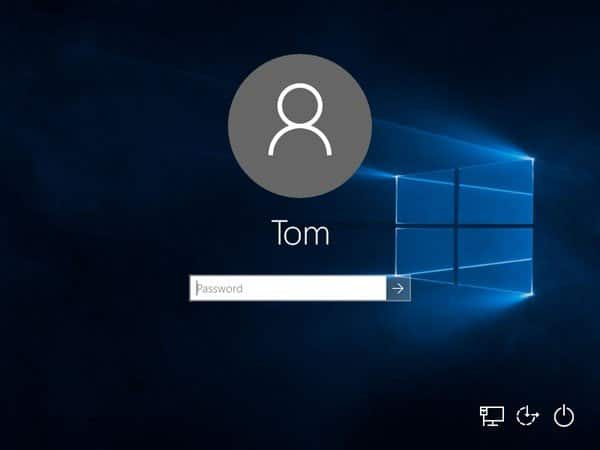 Reset Windows 10 password to login in