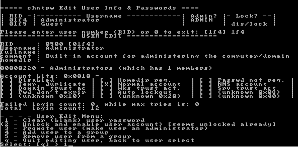 resetting Windows 2008 r2 Administrator password guide 6