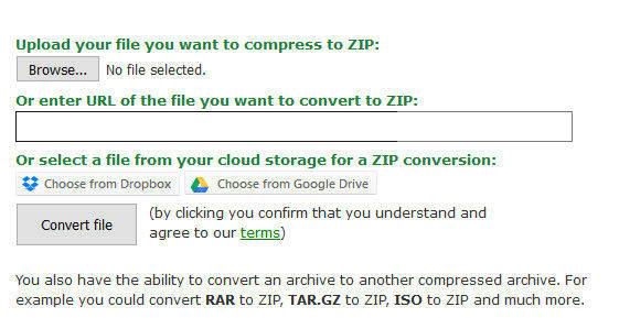 browse zip file online to break zip file password