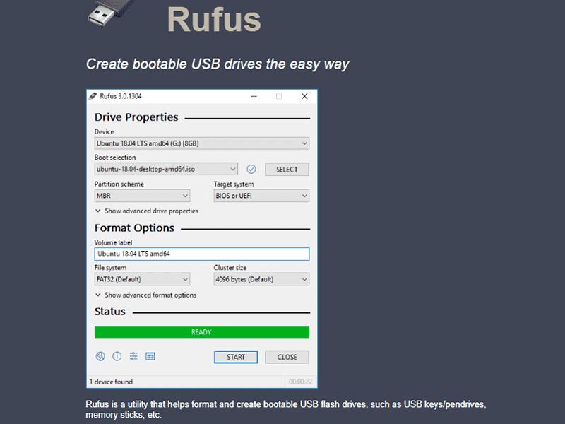 Laden Sie Rufus herunter, um das Windows 8.1-Passwort ohne Festplatte zurückzusetzen