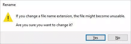 Rename the Excel file