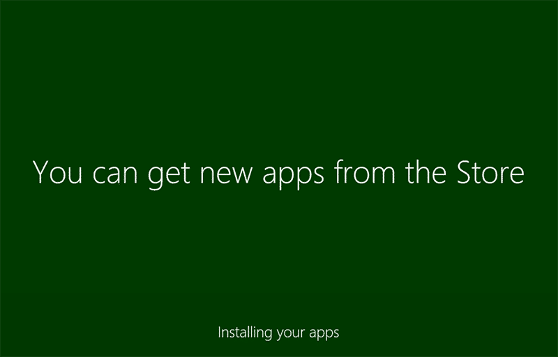 Install apps in Windows 8.1 system