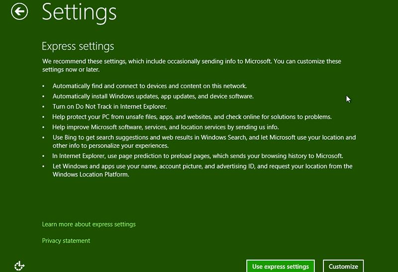 Einstellung beim Zurücksetzen des Windows 8.1-Administratorkennworts