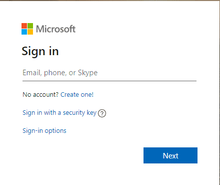 Sign in Microsoft account for Windows 8.1 admin password reset