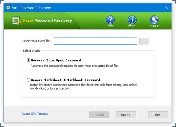 Top-Password Excel Password Genius