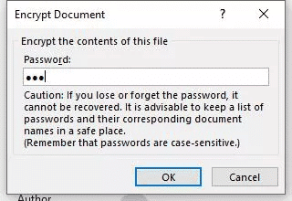 unlock ms word 2010 and above document with password