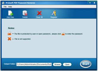 iPubsoft PDF Password Remover
