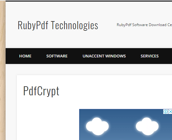 PdfCrypt free best pdf password remover