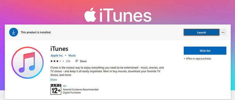 launch latest version of iTunes