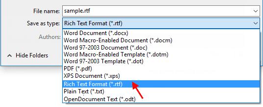 Déverrouillé le document Word chiffré sans mot de passe manuellement