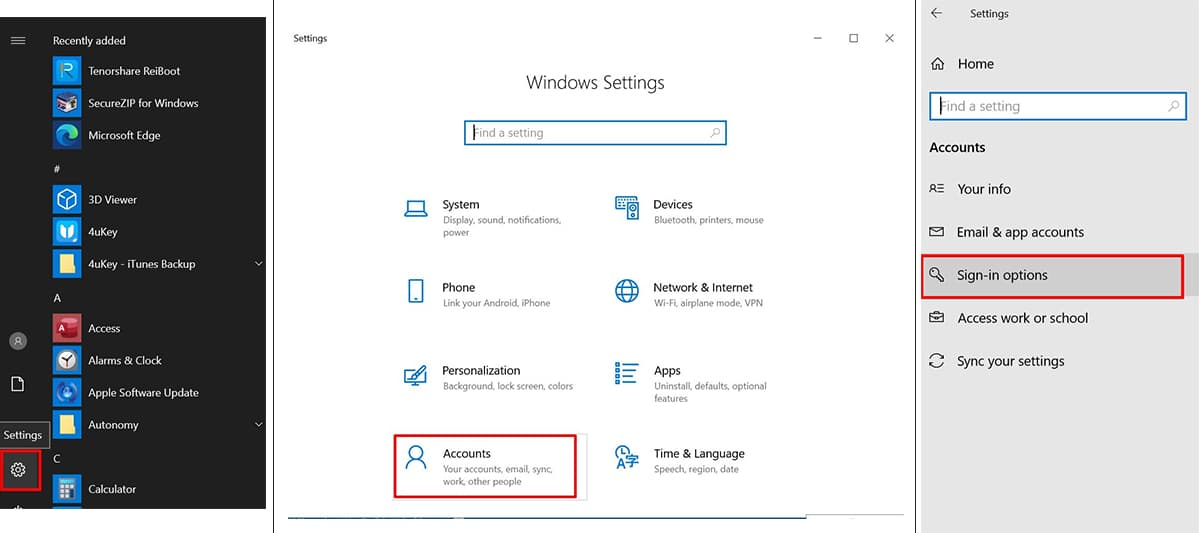 choose the option to disable Windows Hello Pin from settings