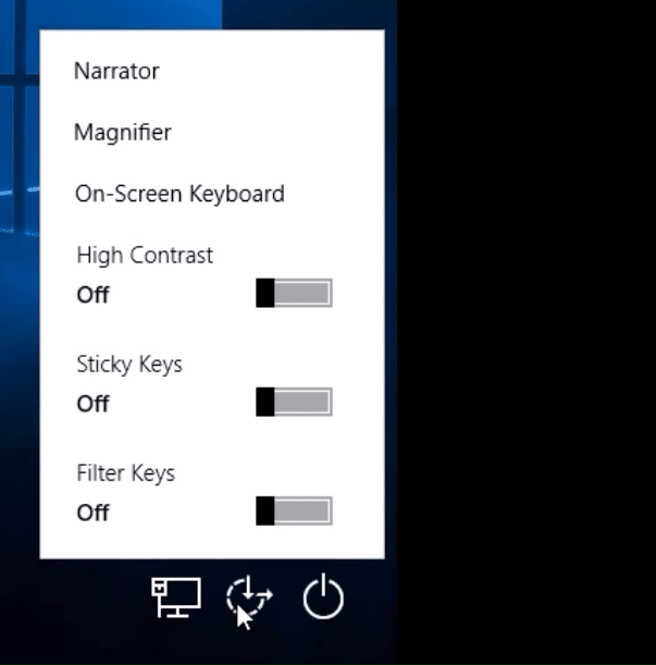 click the default Utility Manager button