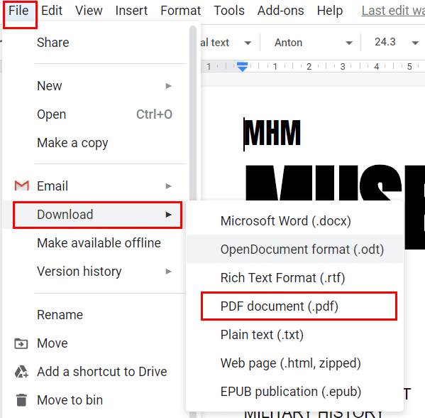 "choose ""Download"" to crack PDF file password"